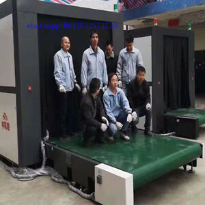 Super Large Size 2000 2000 Mm X Ray Baggage Scanner Machine For Logistic Airport