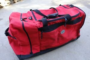 Galls Deluxe Firefighter Bunker Turnout Gear Bag Helmet Compartment Good Condit