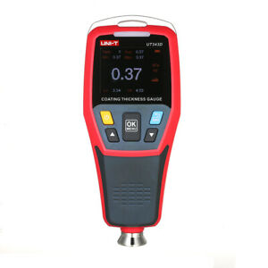 Lcd Digital Auto Car Paint Coating Thickness Tester Measuring Gauge Meter E2j2