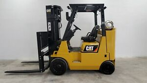 Toyota Forklift 3000 Lbs Lift Capacity 7fgu15 Pneumatic Tires
