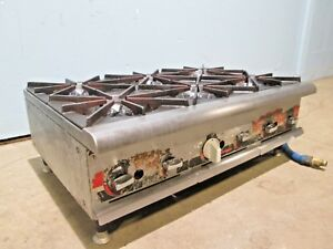 champion Heavy Duty Commercial Natural Gas Counter top 6 Burners Stove range
