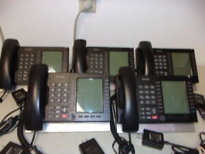 Lot Of 5 Toshiba Ip5131 sdl Business Phones With Power Supplies