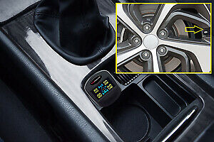 Tire Pressure Monitoring System Tpms Tire Cap Kit Schumacher Electric Corp Sa134
