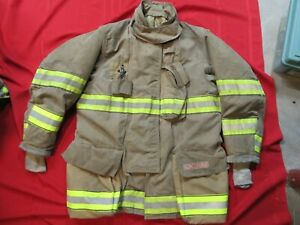 Mfg 2013 Globe Gxtreme 46 X 35 Firefighter Turnout Bunker Jacket Fire Rescue