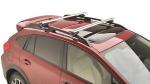 2017 2020 Subaru Extended Cross Bar Roof Racks Crosstrek Impreza Forester Ascent