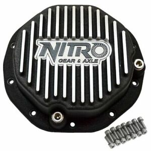 Nitro Gear Npcover Gm8 5 Gm 8 2 Inch 8 5 Inch Differential Covers Finned