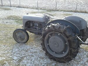 Ford 9n Tractor With Sherman Transmission