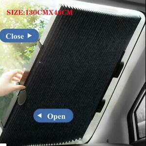 Car Retractable Windshield Sun Shade Visor Folding Auto Block Cover Front Window