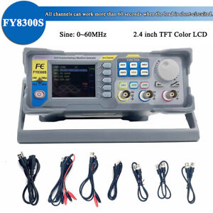 Fy8300 60m Arbitrary Waveform Dds Function Signal Generator 3 Channel Functionus