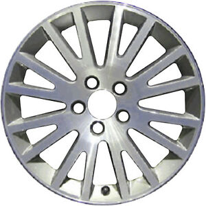 58792 Replacement New Wheel 17 X 7 5 Grey Charcoal W Machined Face