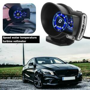 Universal Obd Car Hud Head Up Display Psi Speedometer Overspeed Warning System