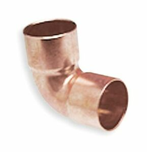 Nibco Wrot Copper Reducing Elbow 90 deg Close Rough C X C Connection Type