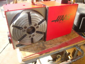 Haas Hrt210 Cnc Indexer W 210mm Plate Works Great Checked By Haas