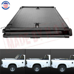 Hard Solid Tri fold Tonneau Cover For 2020 Jeep Gladiator Jt Pickup Truck Bed