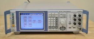 Rohde Schwarz Smf100a Microwave Signal Generator 100khz 43 5ghz Loaded And Good