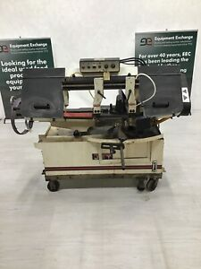 Jet Horizontal Mitering Bandsaw Md mbs 1014w 3 Used