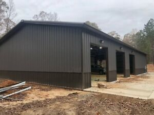 Simpson Steel Building 40x100x16 Garage Storage Kit Shop Metal Building