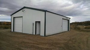 Steel Building 30x40x10 Simpson All Galvalume Metal Building Garage Storage