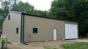 Simpson Steel Building 40x50x14 Garage Storage Shop Metal Building Kit