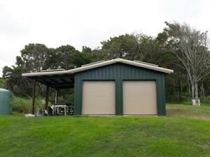 Simpson Steel Building 24x24 Garage Storage Kit Shop Metal Building