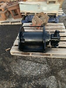 Braden Gearmatic Hydraulic 12 000 Lb Winch