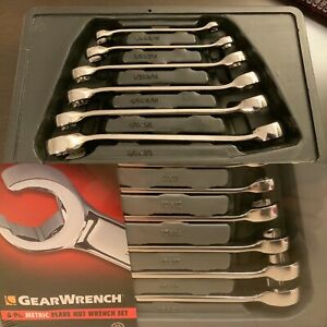 Gearwrench 81907 6pc Flare Nut Sae Wrench Set 81906 6pc Flare Nut Metric Set