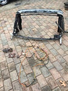 1965 1966 1967 1968 Mustang Convertible Power Top Frame W Motor Wiring Lines