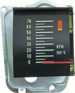 Oer Reproduction Tachometer With 5500 Redline 1968 Chevy Chevelle El Camino Ss