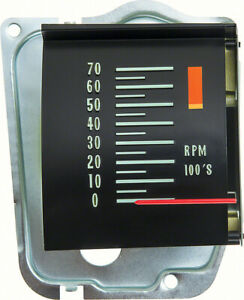 Oer Reproduction Tachometer With 5000 Redline 1968 Chevy Chevelle El Camino Ss