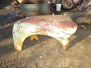 47 48 49 50 51 52 53 Gmc Big Truck Right Passengers Side Front End Fender