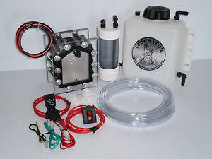 21 Plate Hho Hydrogen Generator Sealed Dry Cell Kit Watch Video