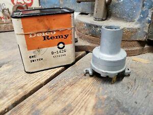 Nos 1958 Chevrolet Impala Bel Air Biscayne Ignition Switch Delco Oem Gm 1116544