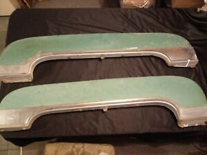 Scarce 1950 Cadillac Fleetwood 60 Special Fender Skirts chrome Mouldings value