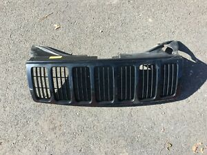 2005 2007 Jeep Grand Cherokee Painted Grill Grille Black