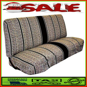 Universal Saddle Blanket Bench Full Size Seat Cover Fits Ford Chevrolet Dodge