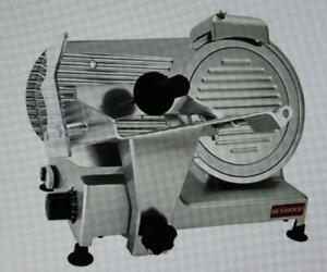 Beswood 250 10 Inch Chromium Plated Carbon Blade Electric Deli Meat Slicer New