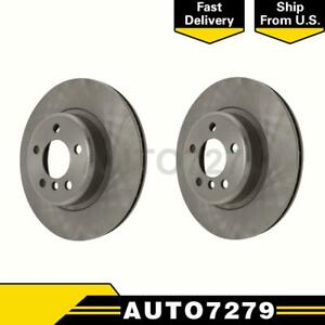 Centric Parts Front 2pcs Disc Brake Rotor For Land Rover Discovery 1999 2004