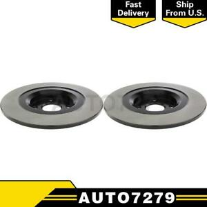 Centric Parts Rear 2pcs Disc Brake Rotor For Fiat 124 Spider