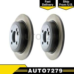 Centric Parts Front 2pcs Disc Brake Rotor For Ford Mustang 2013 2014