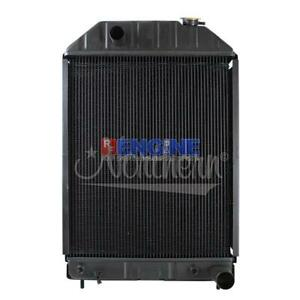 New Radiator Ford new Holland Fits 750 755 755a 755b 7500 Tractor Loader B