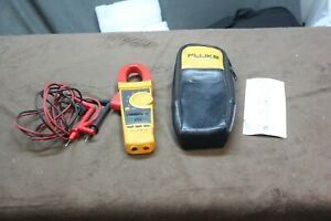 Fluke 337 True Rms 1000 Amp Ac dc Current Clamp Meter Great Condition