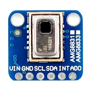 For Arduino Ir Thermal Camera Module Amg8833 8x8 Infrared Thermograph Breakout