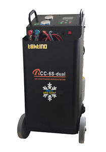 Tektino Ac Service Machine For Standard And Hybrid Car Using 1234yf Refrigerant