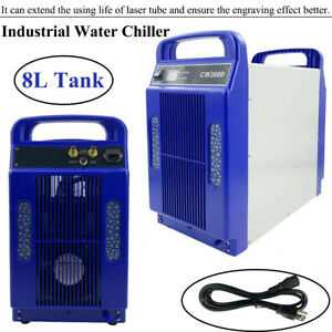 Cw3000 Laser Water Chiller Machine Industrial 8l Forces Circulation Heavy Duty