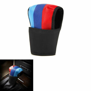 Car Interior Leather Gear Shift Knob Cover Protector For Bmw M Power Mini Cooper