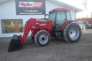 Case Ih Cx90 4x4 Tractor W Loader 3181 Hours 90 Hp Diesel Cab Heat Air