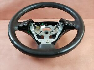 07 09 Mazdaspeed3 Speed3 Mazda Turbo Red Stitch Steering Wheel 1 No Controls