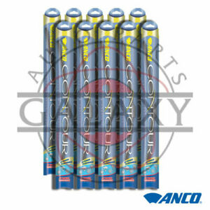 Anco Contour C 22 oe 10 Pack 22 Replacement Wiper Blades
