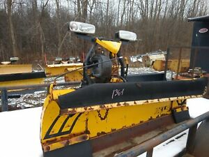 9 Fisher Minute Mount 2 Ii Snow Plow Dodge Chevy Ford Gmc 3500 250 550