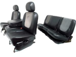 Dodge Ram Seats Leather Front Rear Console 2008 20007 2006 2005 2004 2003